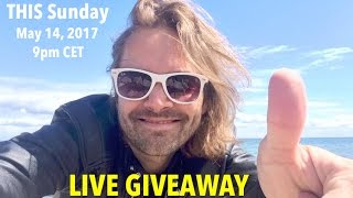 100,000 Subscribers!!! (Join the LIVE Giveaway)