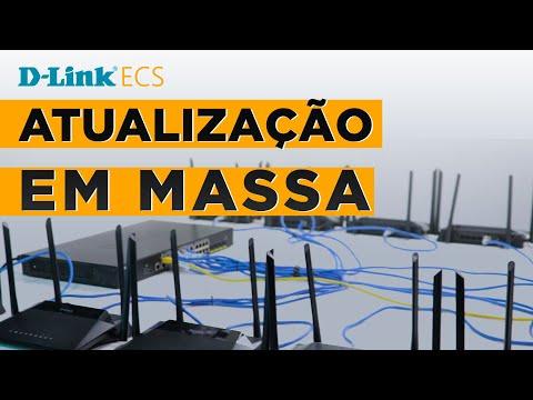 D-Link ECS - Atualização em MASSA
