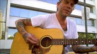 "Ben Nichols (Lucero) performs ""Last Pale Light In The West"" on Robert Childs' guitar"