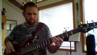 Bass Cover- Shining Star, Earth Wind and Fire