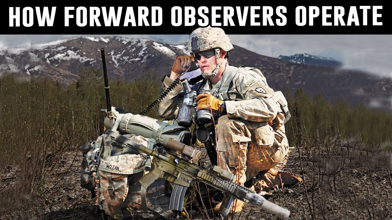 Why We Need Forward Observers in the Military