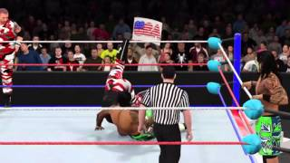 WWE 2K16: Usos vs Duddley Boyz WrestleMania 32
