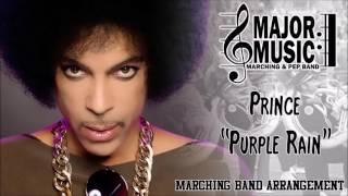 """Purple Rain"" Prince Marching/Pep Band Music Arrangement"