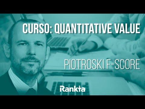 Joseph Piotroski, en su estudio de investigación cuantitativa aplicada, estableció un método objetivo para valorar empresas y separar las empresas ganadoras de las perdedoras. Este sencillo método de 9 factores llamado el Piotroski F-Score permite al inversor valorar adecuadamente las empresas en las que invertir.
