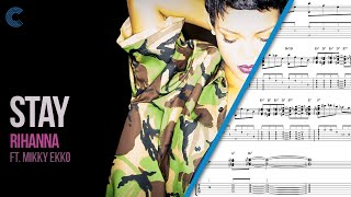 Tenor Saxophone - Stay - Rihanna ft. Mykki Ekko - Sheet Music, Chords, & Vocals