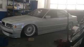 Bagged BMW E38 test