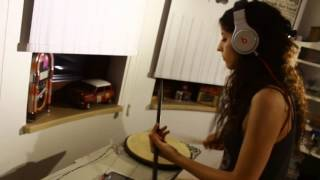 Look At Me Now Chris Brown ft Lil Wayne Busta Rhymes Drum Cover By Anna Koniotou