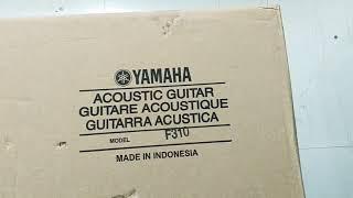Unboxing Yamaha Acoustic Guitar Model : F310 || Yamaha F310