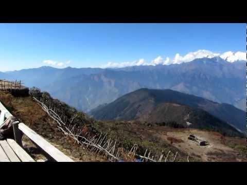 Martin in Nepal 2012 – Aussicht auf 3900m