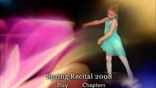 Dance Recital DVD Menu 2008