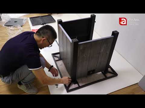 Gas fire pit installation | Co-Arts Innovation