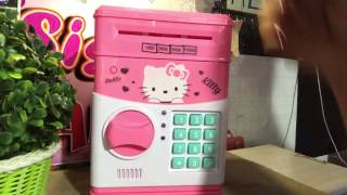 Hello kitty coin bank product review
