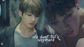 [FMV] We Don't Talk Anymore | Jungkook ft. Jimin (BTS)  / ENG LYRICS