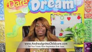 Andrea Ignites Childcare 1 Day Live Coaching 8/23/14