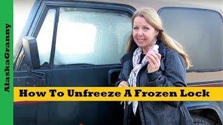 How To Unfreeze A Frozen Lock