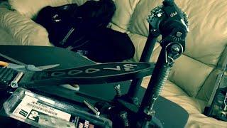 DIY quick tip - replacing kick pedal hinge dw drum kick pedal.  Do it yourself!