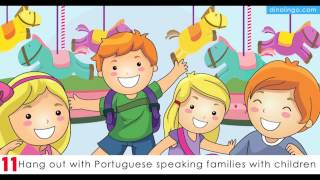 Teach kids European Portuguese - 15 Ways for children to learn European Portuguese