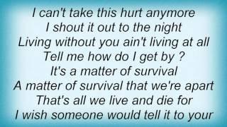 Magnum - Matter Of Survival Lyrics