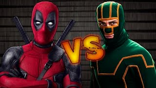Deadpool VS Kick Ass | Batalla de Rap | Rouchy & Sonic | Español