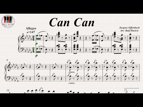 Comment jouer le french cancan de Jacques Offenbach au piano
