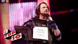 WWE top 10 mejores momento de Raw (13-06-2016)