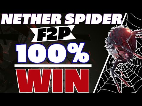 Nether Spider F2P 100% win Raid Shadow Legends Doom Tower Nether spider guide