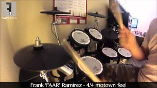 4/4 Motown Feel - Standing In The Shadows Of Love by The Four Tops (Drum Cover)