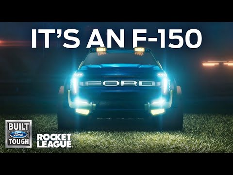 WTFF::: Rocket League and Ford Team Up With In-Game Car and Freestyle Event