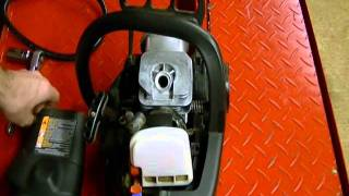 Small Engine Repair: Compression Test on a 2 Stroke Craftsman Chainsaw