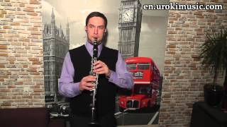 How to Play Clarinet Celine Dion My Heart Will Go On Cover Melody School Learn Class Course Tutorial