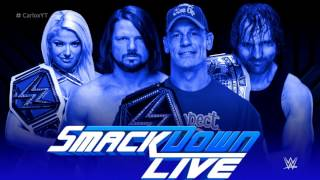 "WWE: SmackDown Live Theme Song ""Take A Chance"" ►Custom 2017 Remix"
