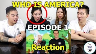 Asians watch WHO IS AMERICA Episode 1 | Reaction width=