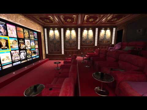 CEDIA Home Theater Virtual Tour: Luxury Screening Room