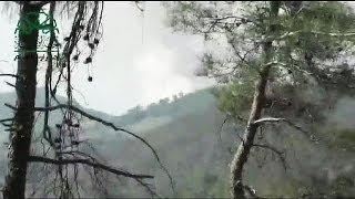 Video: Turkey shoots down Syria war plane