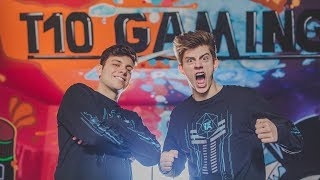 TEAM 10 GAMING OFFICIAL SET UP TOUR WITH CHANCE AND ANTHONY