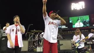 Flo Rida Live Hello Friday 6-14-16 at Angels Stadium Front Row Center