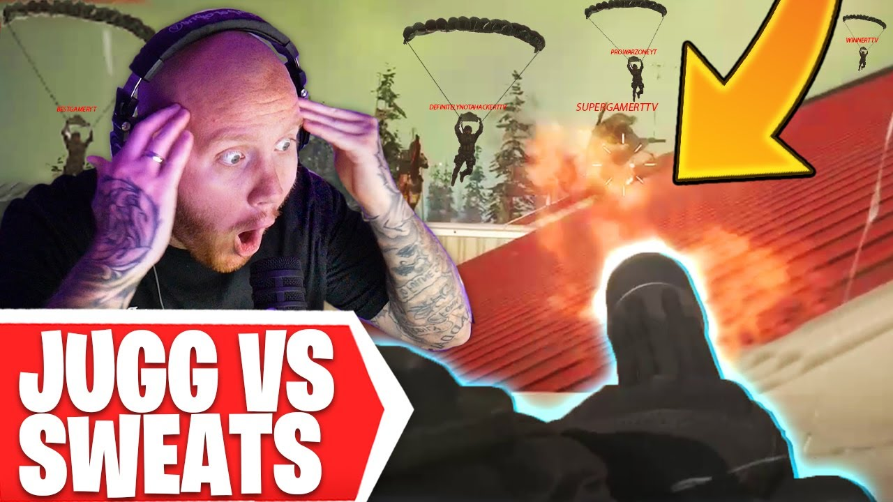 TimTheTatman - JUGGERNAUT VS TTV SWEATS IN WARZONE!