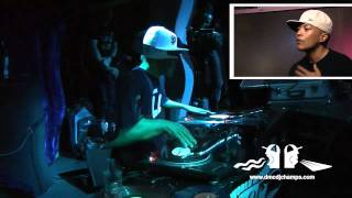 DMC Online Championships 2011 - DJ Q-Bert performance and interview