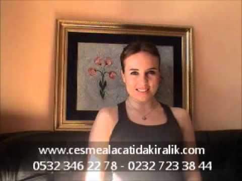 Çeşme'de satılık, Alaçatı'da acil satılık, Ilıca'da villa