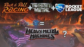 Heavy Metal Machines = Rock n' Roll + Carros + Explosões!