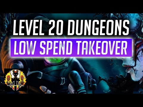 RAID: Shadow Legends | TAKING ON LEVEL 20 DUNGEONS, low spend account!