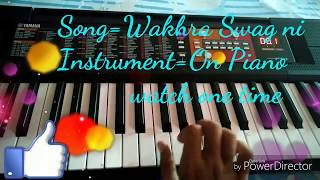 Best piano played on wakhra swag see one time
