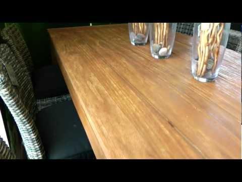 סרטון: ריהוט גן מעץ: שמירה ותחזוקה