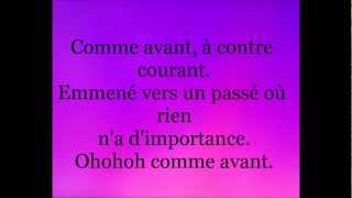 Marie Mai comme avant lyrics paroles.wmv