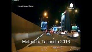 meteorito tailandia  Enero 24 2016