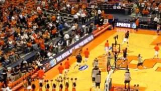 Syracuse Orange enter the Carrier Dome v Georgetown