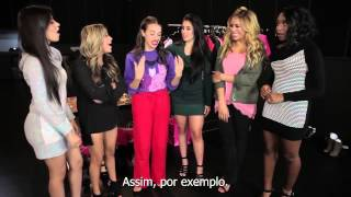 Giving Fifth Harmony a Voice Lesson (legendado PT-BR)