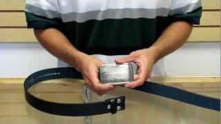 How To Put A Belt Buckle On A Belt - Official HotBuckles.com!