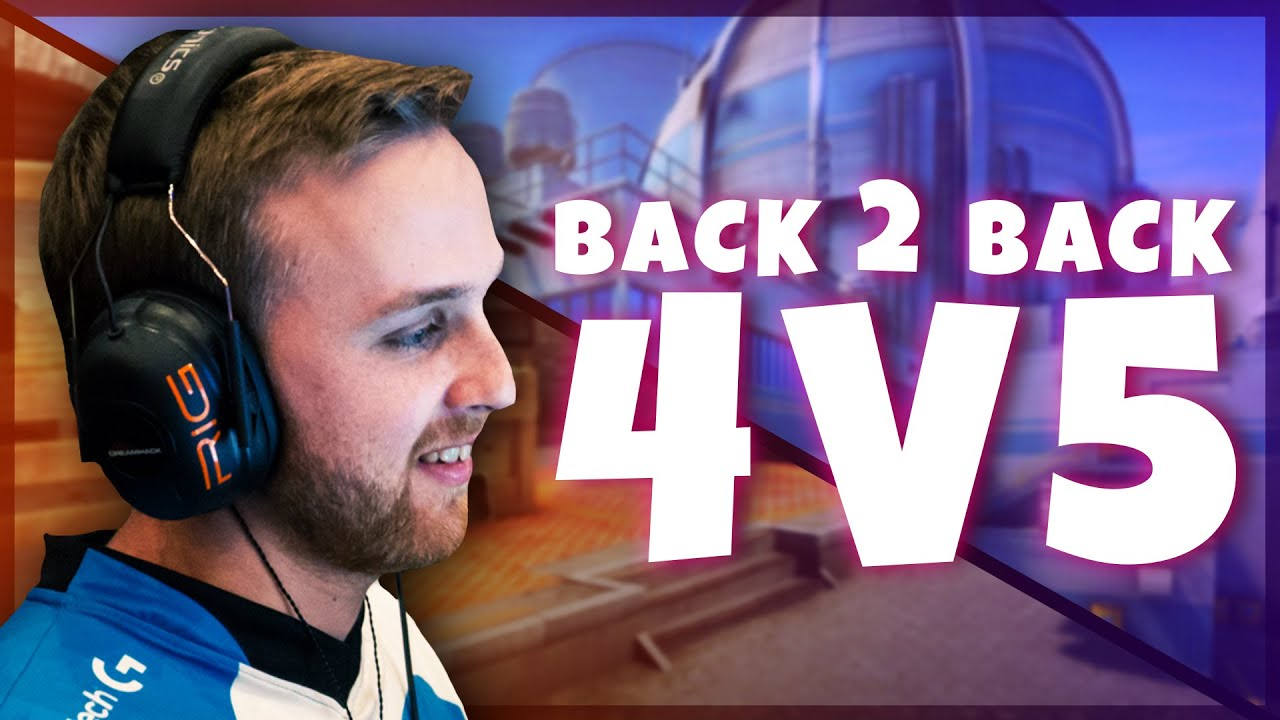 n0thing - BACK TO BACK 4V5 WINS IN CS:GO MM | ROAD TO GLOBAL