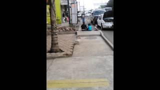Tanga en la calles